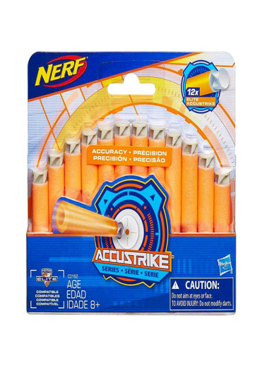 Nerf Nerf Elite Accustrike Dart  Yedek Paket Renkli